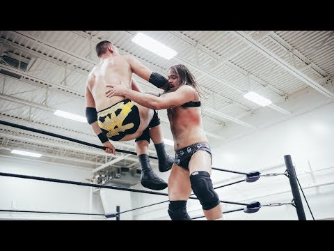 """Josh Briggs vs. Donovan Dijak - Limitless Wrestling """"Nothing Gold Can Stay"""" (WWE NXT)"""
