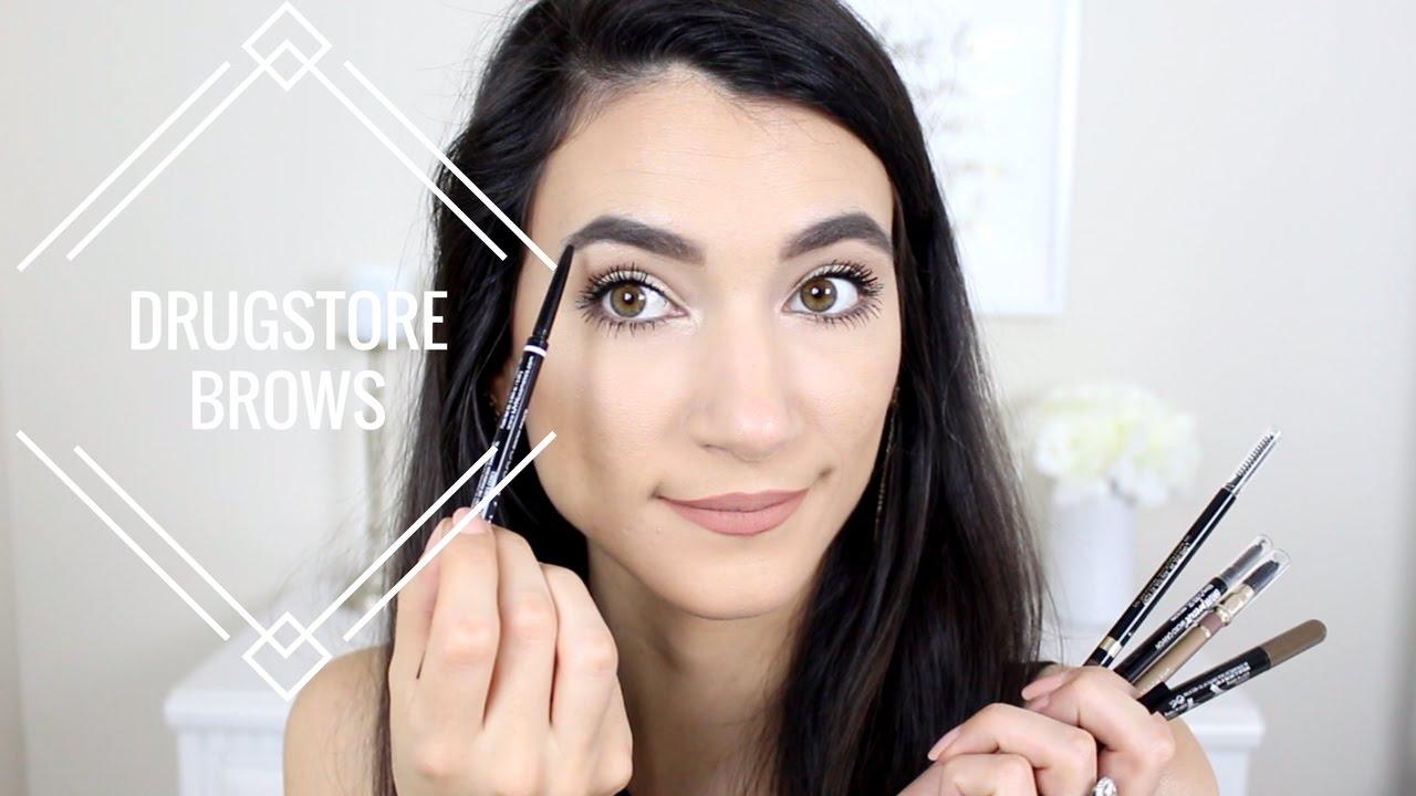 Top 5 Drugstore Brow Pencils 2017 Youtube