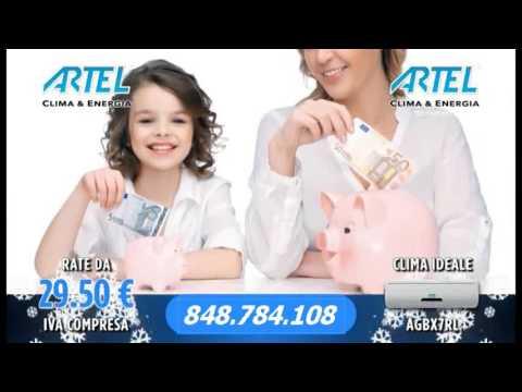 Nuova Offerta climatizzatori e condizionatori ARTEL - YouTube
