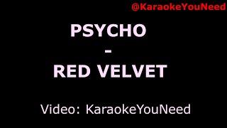 Download lagu [Karaoke] Psycho - Red Velvet