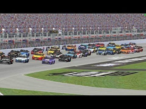 NR2003 - ERR League Race - Sprint Cup Series - Atlanta - Folds Of Honor QuikTrip 500