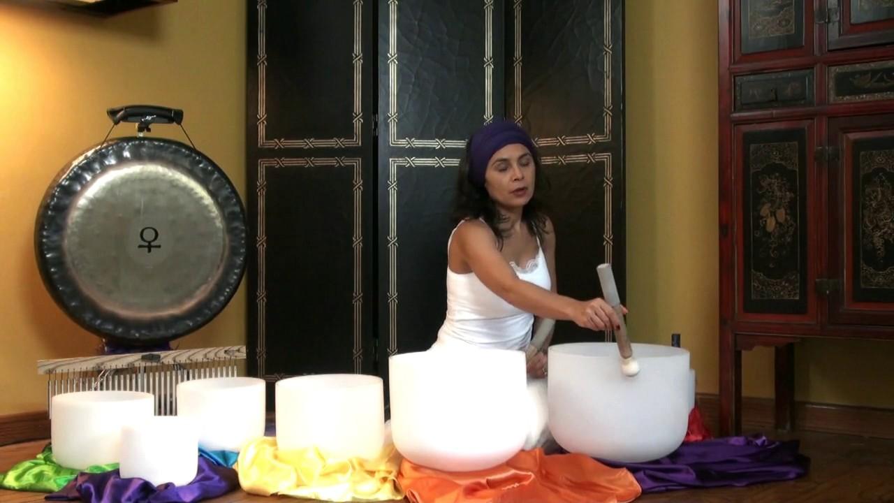 Raise your Kundalini Sat Kriya 6 min w/ Relaxing Soundbath