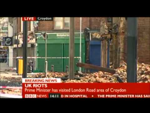 8-9-2011 BBC News London Riots Report