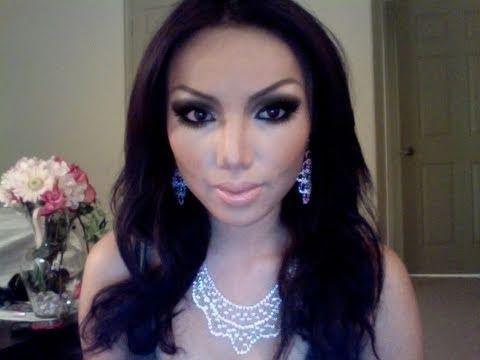 Kim kardashian Make-up Transformation !!!