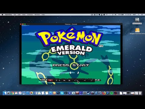 How To Install Pokemon Emerald On MAC? [GBA Emulator Tutorial]