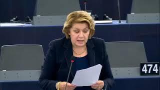 Intervento in aula di Caterina Chinnici sull'Agenzia dell'UE per la cooperazione giudiziaria penale (Eurojust)