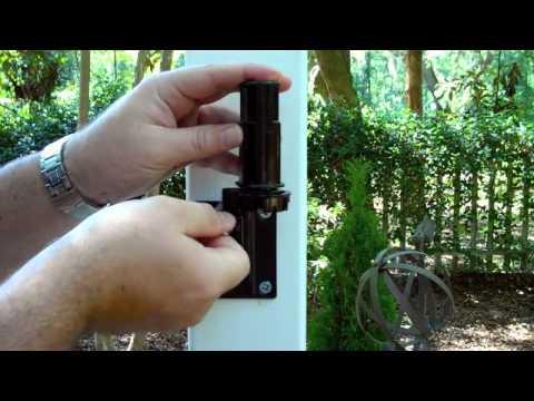 veranda gate kit youtube. Black Bedroom Furniture Sets. Home Design Ideas