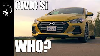 2018 Hyundai Elantra Sport // Finding the 'Sport' in this Civic Si rival..