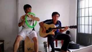 hành trình đất phù sa - sáo ống nước + guitar tại shop nhạc cụ Whjte