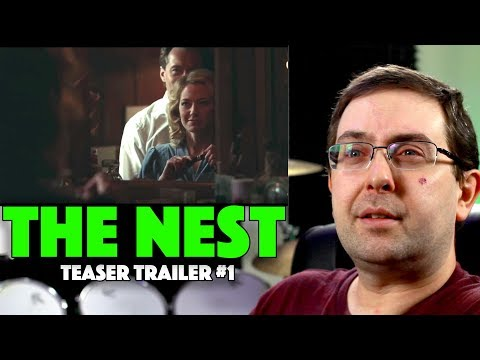 REACTION! The Nest Teaser Trailer #1 – Jude Law Movie 2020