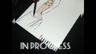 Desenhando Chaves/ Draw El Chavo/ Dibujando El Chavo-Sketch in progress