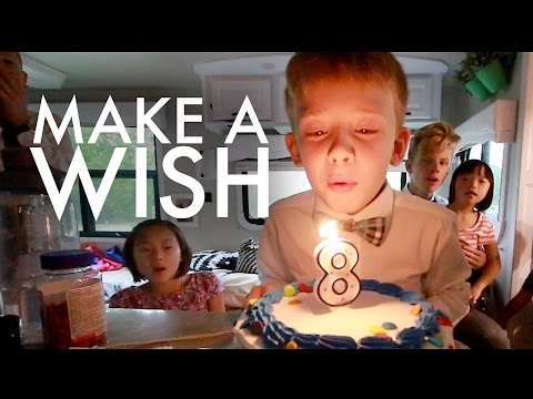 ASHER'S 8TH BIRTHDAY AND BAPTISM : Travel Full-time w/9 kids