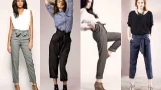 Havuç Pantolon Modelleri Yeni Sezonun Trendi