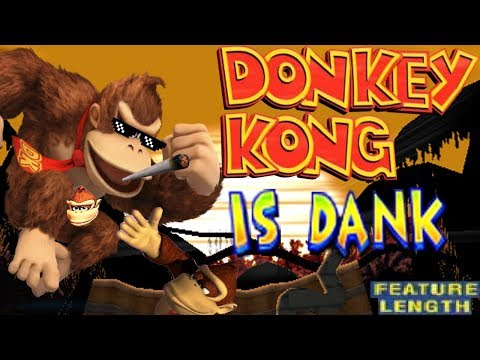 Donkey Kong is Dank Better Nerf - Super Smash Bros. For Wii U Montage