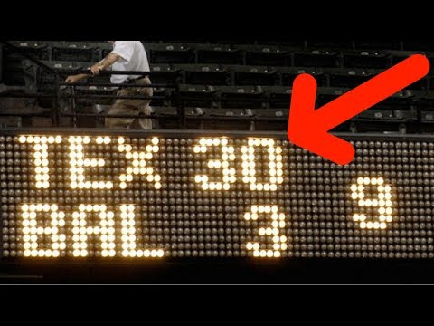 MLB Highest Scoring Games (HD)