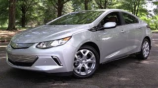 2017 Chevrolet Volt Premier - Start Up, Road Test & In Depth Review