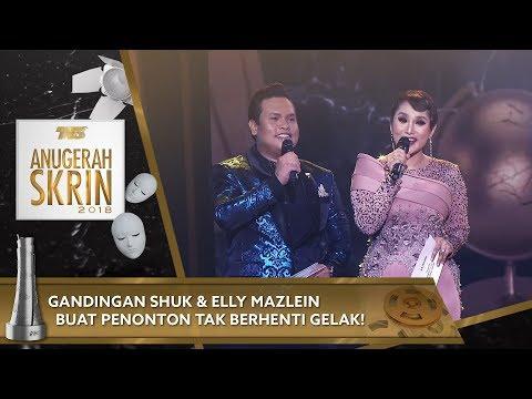 Gandingan Shuk & Elly Mazlein buat penonton tak berhenti gelak! | #ASK2018