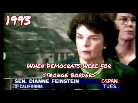 (D) Sen. Dianne Feinstein 1993 and 1994 Stop Illegal immigration