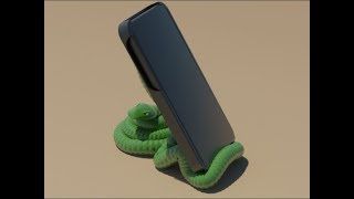 A snake that knows smartphones