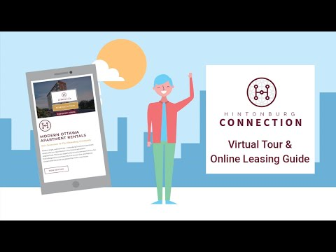 HOW-TO: Virtual Tour and Online Leasing Guide for Hintonburg Connection, 175 Carruthers Ave Ottawa