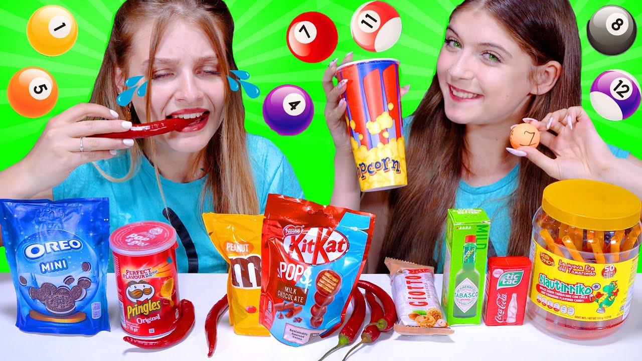 ASMR Most Popular TIK TOK Food Challenge By LiLiBu #2