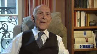 Stéphane Hessel über Onkel Alfred: Grußbotschaft aus Paris