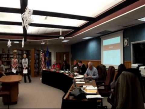 Weyauwega Fremont School District BOE Meeting 12-23-13