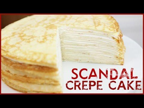 Scandal  Layer Crepe Cake