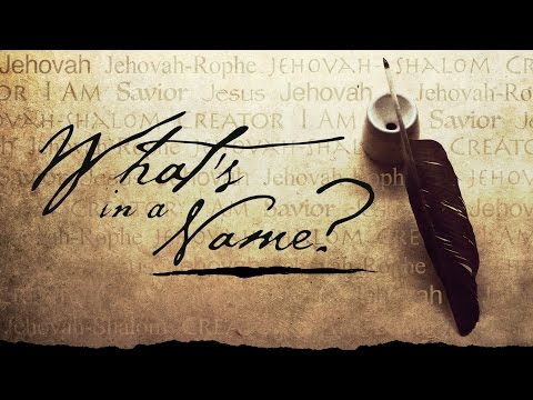 03-05-17 | What's in a Name? | God's Name Means More Than You Think | Mark Anderson