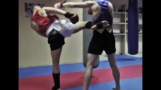 Тайский бокс Обучение - Жесткие удары ногами под прямые(В этом видео уроке по Тайскому боксу Обучение, я покажу тебе классную наработку ударов ногами на контратака..., 2014-11-03T06:34:10.000Z)