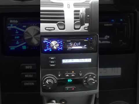 Boss 508uab  stereo in a 2005 Chevy Malibu