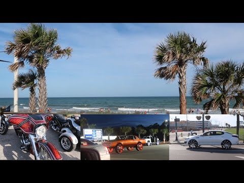 I WENT TO MYRTLE BEACH FOR THE DAY   BLACK BIKE WEEK