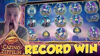 RECORD WIN!!! Cazino Zeppelin Big win - Casino - Huge Win (Online Casino)