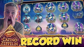 RECORD WIN!!! Cazino Zeppelin Big win - Casino - Huge Win (Online Casino)