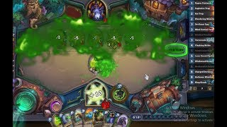 [Hearthstone] Fucking a Zoo-Lock over with only 2 hp left. Ft Lifestealing Bloatbats
