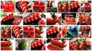 AMAZING WATERMELON IDEAS | FRUIT NINJA of FRUITS | Amazing Fruits Cutting Skills
