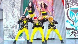 Throwback:  2013 World Reggae Dance Championship - JAPAN ESPECIAL TEAM