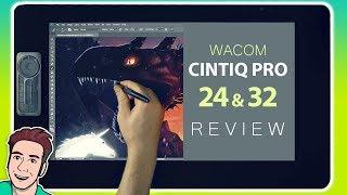Wacom Cintiq Pro 24 & 32 Review (In-Depth)