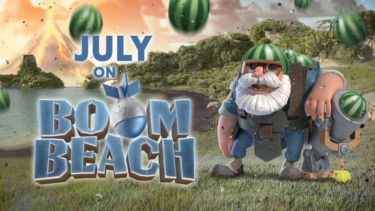 This July on Boom Beach!