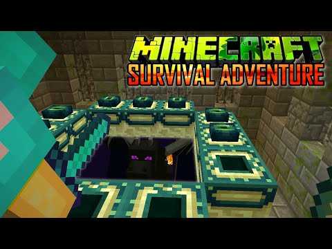 MINECRAFT SURVIVAL ADVENTURE EP24 | THE END