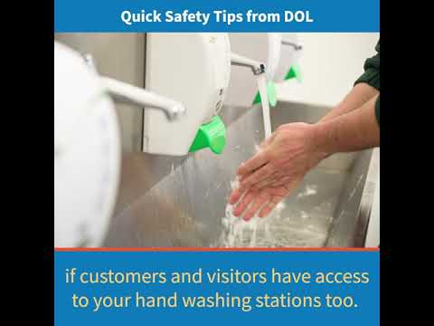 Handwashing Practices to Keep Workers Safe - #COVID19 Quick Safety Tips
