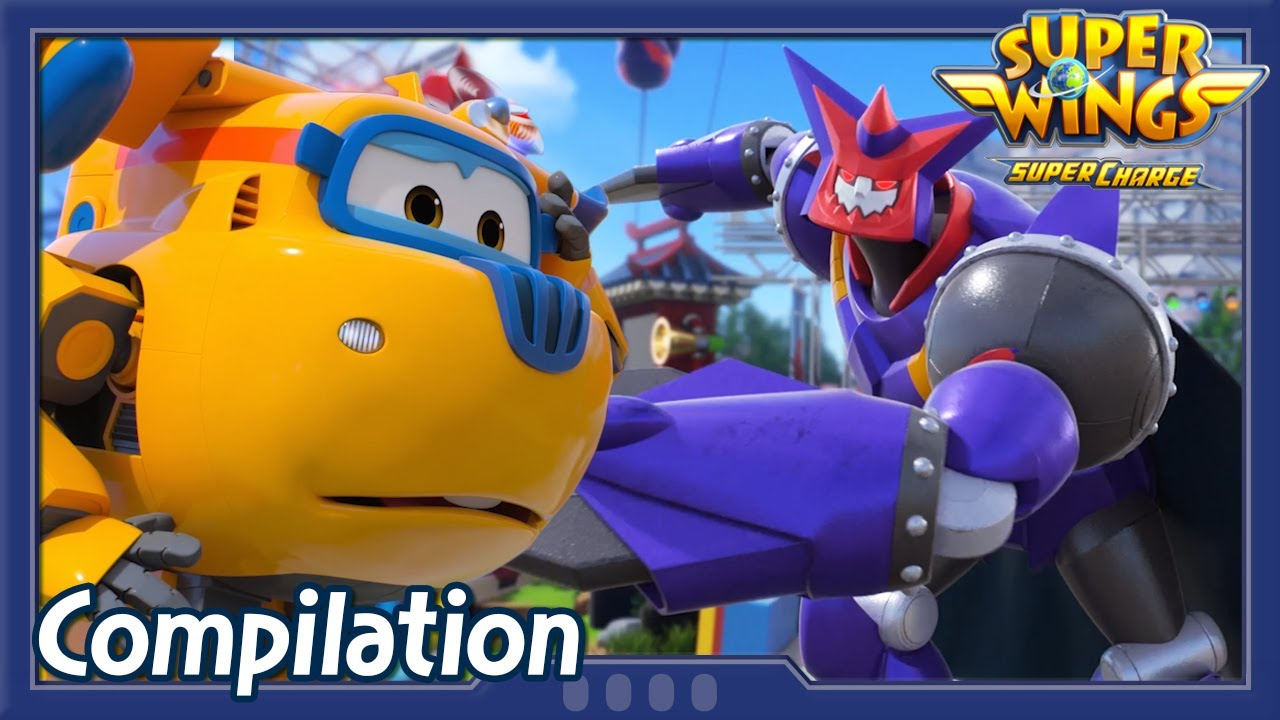 [Superwings s4 Compilation] EP16 ~ EP18 | Super wings Full Episodes