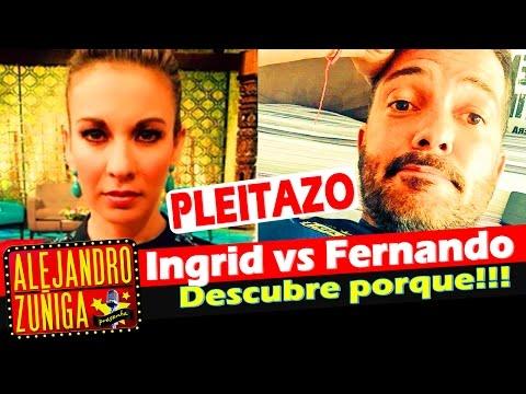 Ingrid Coronado y Fer del Solar PELEAN POR UNA CASA!! Noticias