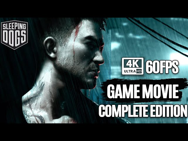 SLEEPING DOGS Definitive Edition All Cutscenes (Includes All DLC'S) Game Movie 4K Ultra HD