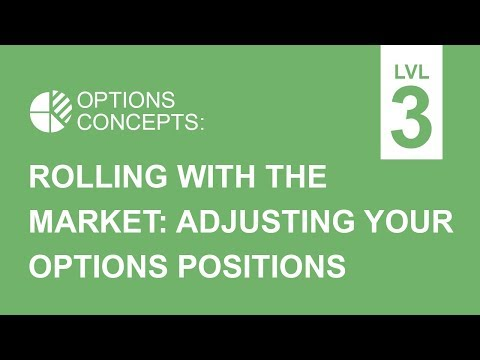 Adjusting Your Positions to Roll with the Market