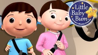 Learn with Little Baby Bum | Seat Belt Song | Nursery Rhymes for Babies | Songs for Kids