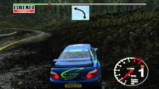 Repeat youtube video Colin McRae '04 with and without ENB series