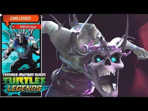 TMNT Legends Update X - Super Shredder Event