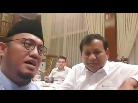 Prabowo Jawab Tuduhan Jokowi soal Konsultan Asing