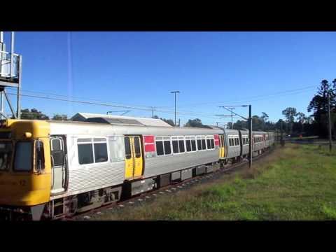 Trains Buses Ferries in Brisbane. John Coyle video.